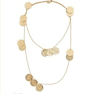 GORJANA - Faye Wrap Necklace in Gold